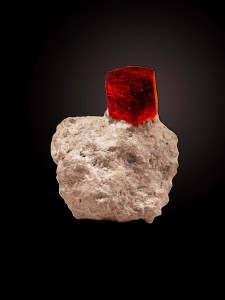 Red Beryl Crystal