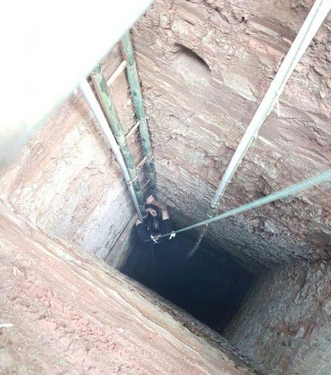 Entrance of diamond mine